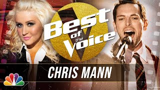 """Classical Singer Chris Mann Sings Andrea Bocelli's """"Because We Believe"""" - The Best of The Voice"""