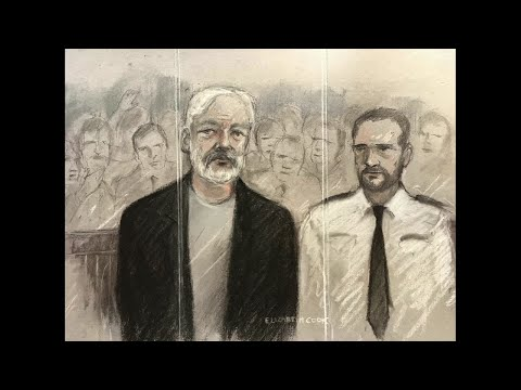 A British judge has sentenced WikiLeaks founder Julian Assange to 50 weeks in prison for jumping bail in 2012.