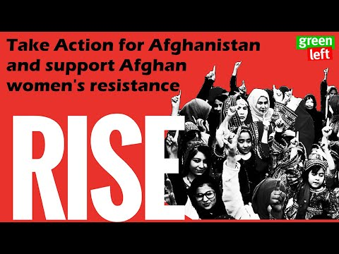 Take Action for Afghanistan and support Afghan women's resistance