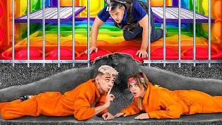 Pop It Jail vs Simple Dimple Jail! We Stuck in Weird Prison!