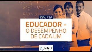 Vídeo #25 - Educador - Desempenho de cada um - Educação