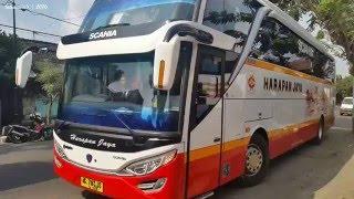 KERENNYA Armada Bus Harapan Jaya Terbaru | Jetbus Setra SHD