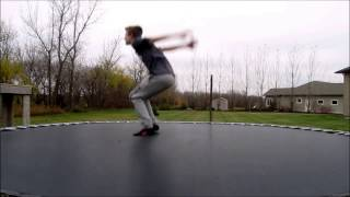 How to do a Backflip on a Trampoline in 10 minutes.