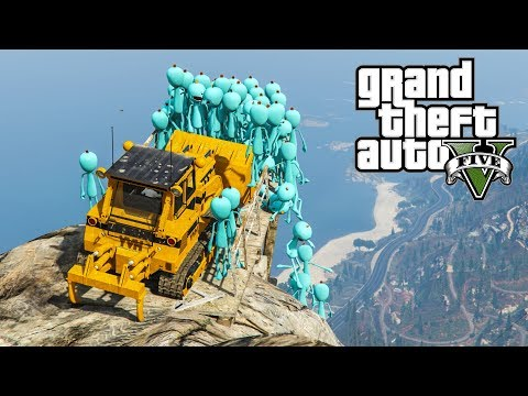 WILL THEY SURVIVE ? (GTA 5 Funny Moments)