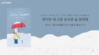 【カナルビ/日本語訳】 Snow Flower  - V (BTS) feat. Peakboy