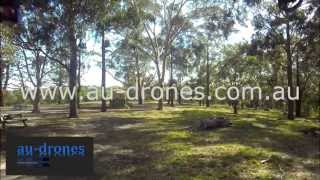 """au-drones 89° FOV Flat Lens """"Multirotor FPV""""  Flying around trees for perspective view of lens"""