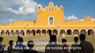 preview picture of video 'Izamal, Convento Franciscano'