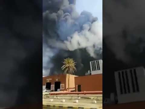 اندلاع حريق عرضي نتيجة تسرب محدود في أحد خزانات الوقود بمحطة توليد رابغ