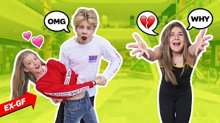 JEALOUS CRUSH MEETS My Ex GIRLFRIEND For The First Time! **EPIC REACTION** 😲💔 Lev Cameron