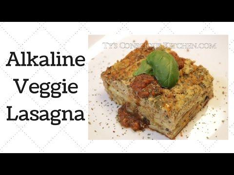 Veggie Lasagna Dr. Sebi Alkaline Electric Recipe