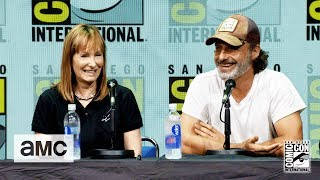 The Walking Dead: Andrew Lincoln On His Accent Comic-Con 2017 Panel