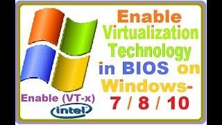 enable virtualization in the bios windows 10 acer - Kênh
