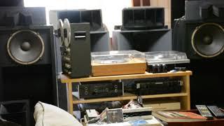 70年代のオーディオを聞く17 JBL2Wayシステム