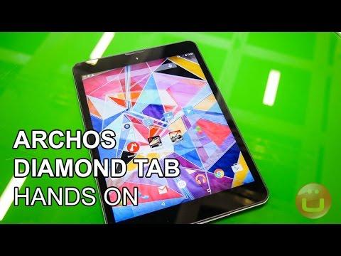 Archos Diamond Tab - hochwertiges 199 Euro Tablet im Hands On