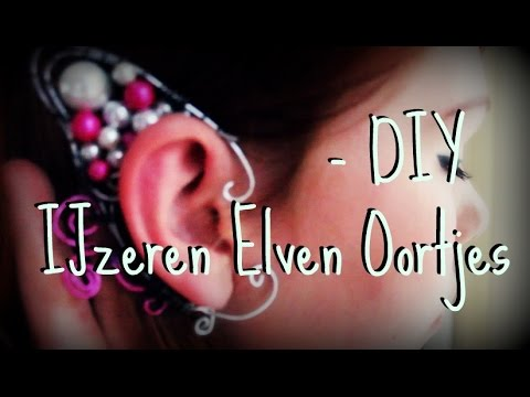 Do It Yourself - Ijzeren Elven Oortjes