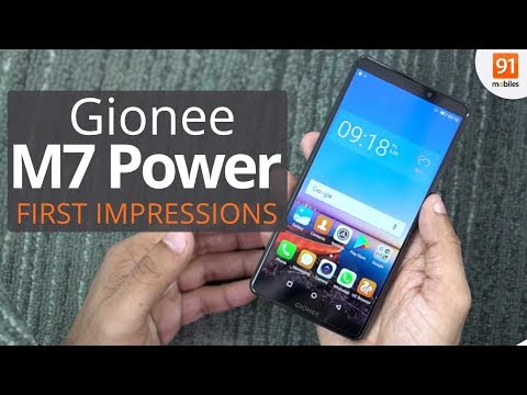 Gionee M7 Power: First Look | Hands on | Launch