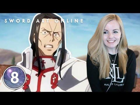 The Sword Dance of Black and White - Sword Art Online Episode 8 Reaction