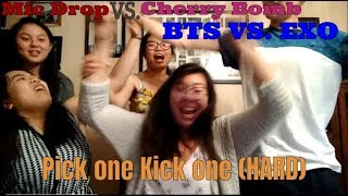 Fandom War??? | Pick One Kick One (HARD)   Kpop Songs   Kpop Game | NewChu