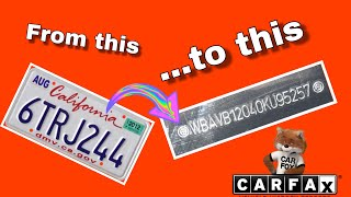 How To Find a Car's VIN from License Plate Number (VIN Number Hacking?)