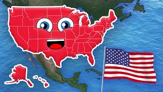 The 50 States Song/50 States and Capitals Song for Kids