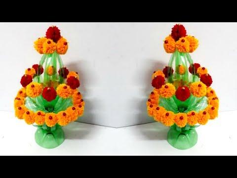 Guldastaflower Vase From Plastic Bottle Best Out Of Waste Diy
