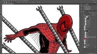 Spiderman Speedpaint