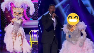 The Masked Singer  - The Kitty Performances and Reveal 🐱