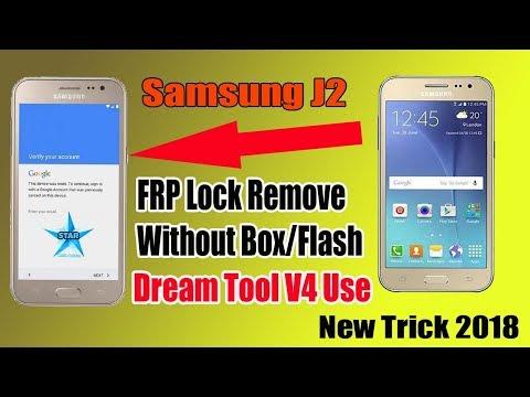 Samsung J2 (J200G) FRP Unlock | Dream Tool V4 All In One Frp