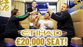 ETIHAD AIRWAYS ALL CLASS TAKEOVER   Residence, First Class, Business and Economy