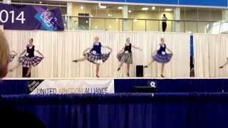 Highland dance- Scottish lilt (4 step)