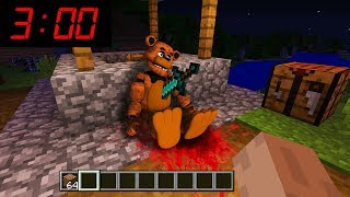 Minecraft : WHAT HAPPENED TO FREDDY FAZEBEAR AT 3AM??(Ps3/Xbox360/PS4/XboxOne/PE/MCPE)