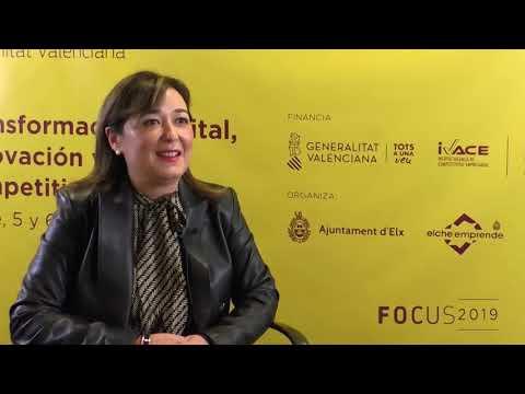 María del Carmen Pastor, de la Universidad de Alicante en Focus Pyme CV 2019[;;;][;;;]