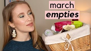 MARCH EMPTIES | Products I Used Up
