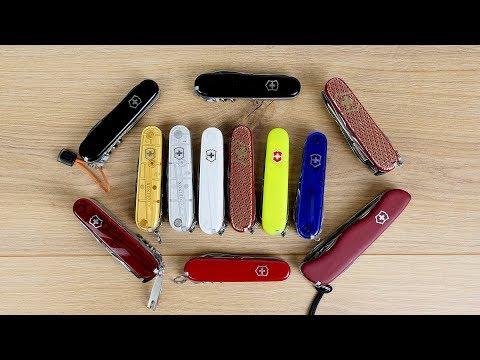 Meine Top 5 Schweizer Taschenmesser von Victorinox! // EDC // DEUTSCH