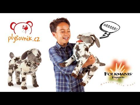 plyšová Mečící koza Meme