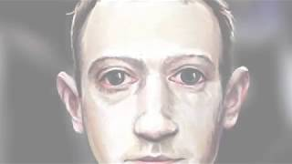 Time-lapse video of my Zuckerberg Portrait being made