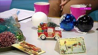 Дизайнеры украсят ваш дом к Рождеству: в моде золотые ёлки с голубыми и бирюзовыми шарами
