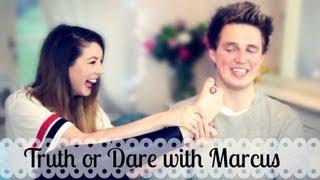 Truth Or Dare With Marcus Butler | Zoella