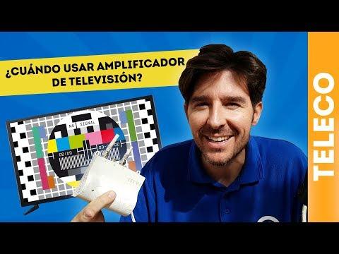 ¿CUÁNDO USAR AMPLIFICADOR DE TELEVISIÓN? ANTENISTA