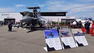 Pamer Mesin Perang di Paris Air Show 2019