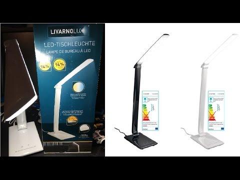 LED-Tischleuchte LIVARNO LUX [4K] [UHD] Deutsch [Review]