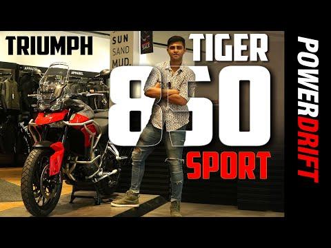 2021 Tiger 850 Sport : Quick Walkaround : PowerDrift