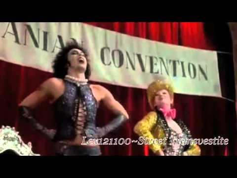 Rocky Horror Picture Show Sweet Transvestite