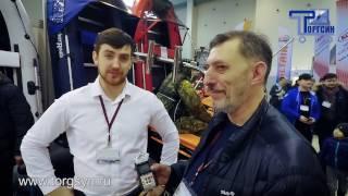 """RiverBoats: Лодки RiverBoats на выставке """"Охота и рыболовство 2017"""" - видео от ТоргСин"""