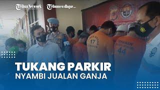 Nyambi Jualan Ganja, Tukang Parkir di Citeureup Bogor Diciduk Polisi