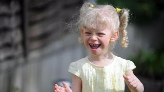 Rare Condition Makes Little Girl Extremely Friendly