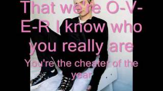 Evan Taubenfeld-- Cheater of the Year (Official Song HQ Lyrics on Screen)