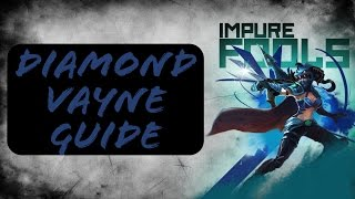An introduction to the Vayne Guide