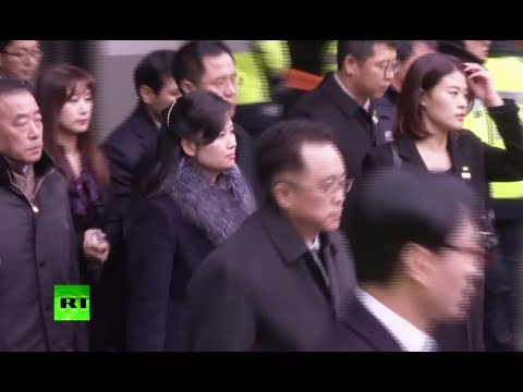 Kim's girlfriend? N. Korean pop singer arrives in the South to check out Olympic art venues