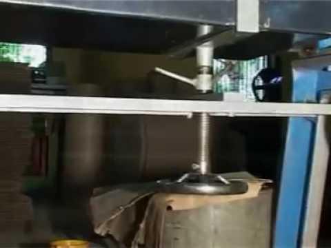 Carton Box Pasting Machine